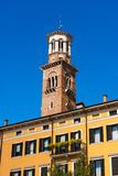 Lamberti Tower - Verona Italy Royalty Free Stock Images