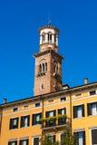 Lamberti Tower - Verona Italy Royalty Free Stock Images
