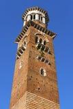Lamberti Tower - Verona Italy Stock Photo