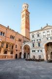 Lamberti tower in verona Stock Images