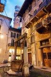 Lamberti tower in Verona Royalty Free Stock Image