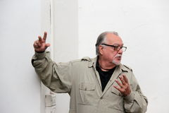 Lamberto Bava film director Royalty Free Stock Image