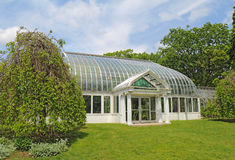 Lamberton Conservatory in Highland Botanical Park, Rochester, Ne Stock Photos