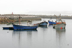 Lambertsbaai harbour Western Cape South Africa Stock Photo