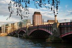 Lambeth桥梁 图库摄影
