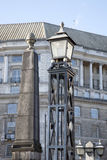 Lambeth Bridge Lamppost, London Stock Image