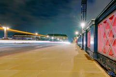 Lambeth Bridge at night. Night view of Lambeth Bridge Royalty Free Stock Photo
