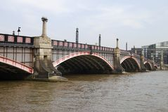 Lambeth Bridge. Westminster. London Royalty Free Stock Photography