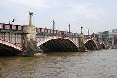 Lambeth Bridge. Westminster. London. Lambeth Bridge over the River Thames at Westminster. London. England Royalty Free Stock Photography