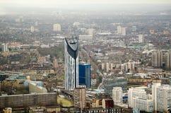 Lambeth mit Schicht-Kontrollturm Lizenzfreies Stockfoto
