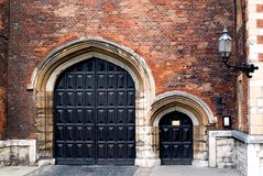 Lambeth Palace Doors Stock Photo