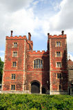Lambeth Palace Gatehouse. Morton's Tower built in 1495 is the gatehouse to Lambeth Palace in London, which has been the official residence of the Archbishop of Royalty Free Stock Photography