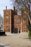 Lambeth Palace. London. England. Entrance to Lambeth Palace (home to Archbishop of London). London. England Royalty Free Stock Images