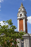 Lambeth Town Hall in Brixton, London. The impressive Lambeth Town Hall in Brixton, London Royalty Free Stock Image