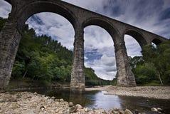 lambleyviaduct arkivbild