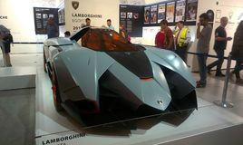 Lamborghini商展 图库摄影
