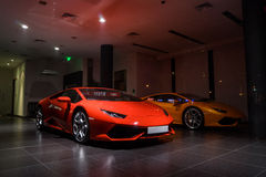 Lamborghini汽车待售 库存照片
