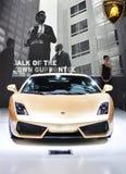 Lamborghini汽车 免版税库存图片