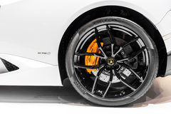 Lamborghini轮子  免版税库存照片