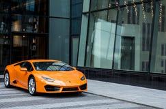 Lamborghini飓风汽车 免版税库存照片