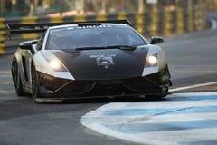 Lamborghini action in thailand super series Stock Images