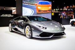 Lamborghini alla Tailandia trentasettesima Motorshow internazionale 2016 fotografia stock