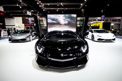 Lamborghini alla Tailandia trentasettesima Motorshow internazionale 2016 fotografie stock