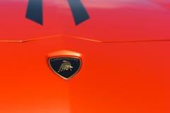 Lamborghini-autoembleem Stock Fotografie