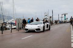 Lamborghini Aventador Fotografie Stock