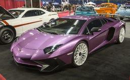 Lamborghini Aventador imagen de archivo libre de regalías
