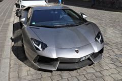 Lamborghini Aventador fotografering för bildbyråer