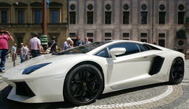 Lamborghini Aventador Стоковое Изображение