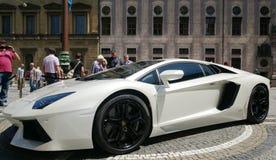Lamborghini Aventador 库存图片