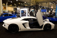 Lamborghini Aventador Stock Photo