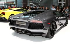 Lamborghini Aventador Royalty Free Stock Photos
