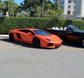 Lamborghini-aventador Stock Afbeelding