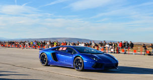 Lamborghini aventador Arkivfoton