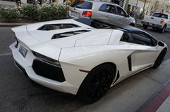 Lamborghini Aventador Lizenzfreie Stockfotografie