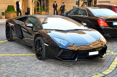 Lamborghini Aventador imagens de stock