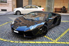 Lamborghini Aventador Fotos de Stock Royalty Free