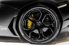 Lamborghini Aventador Stockfotos