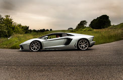 Lamborghini Aventador Royaltyfri Bild