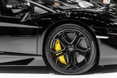 Lamborghini Aventador Fotografia Stock