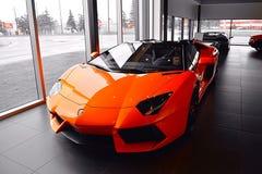 Lamborghini Aventador Στοκ φωτογραφίες με δικαίωμα ελεύθερης χρήσης