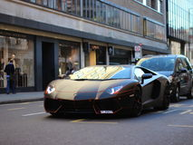 Lamborghini Aventador royalty-vrije stock afbeelding
