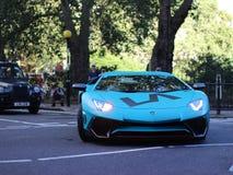 Lamborghini Aventador Royalty-vrije Stock Foto