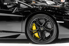 The Lamborghini Aventador. Stock Photography