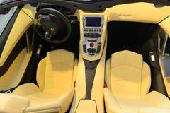 Lamborghini Aventador J Spyder interior Stock Image