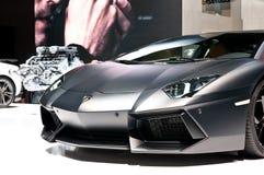 Lamborghini Aventador Langspielplatte 700-4 auf IAA 2011 Stockfotos