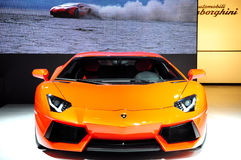 LAMBORGHINI Aventador LP 570-4 supercar Royalty Free Stock Photo